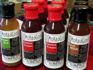 Delicious all natural soda syrups from Drink More Good, $25.