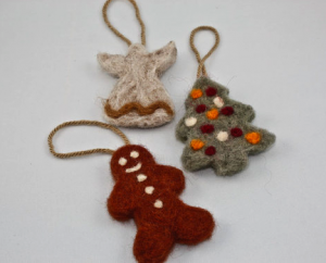 holiday felting