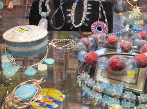 Riverwinds carries a wide selection of artisanal jewelry.