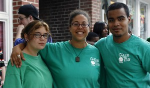 The Green Teens program is increasing its exposure. Photo courtesy Dana Devine O'Malley.