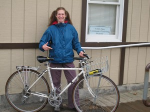 The Green Teen's season is getting underway, but Helanna is already in shape and ready to go.