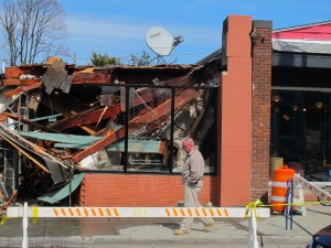 Building inspector Dave Buckley called these the worst buildings on Main Street.