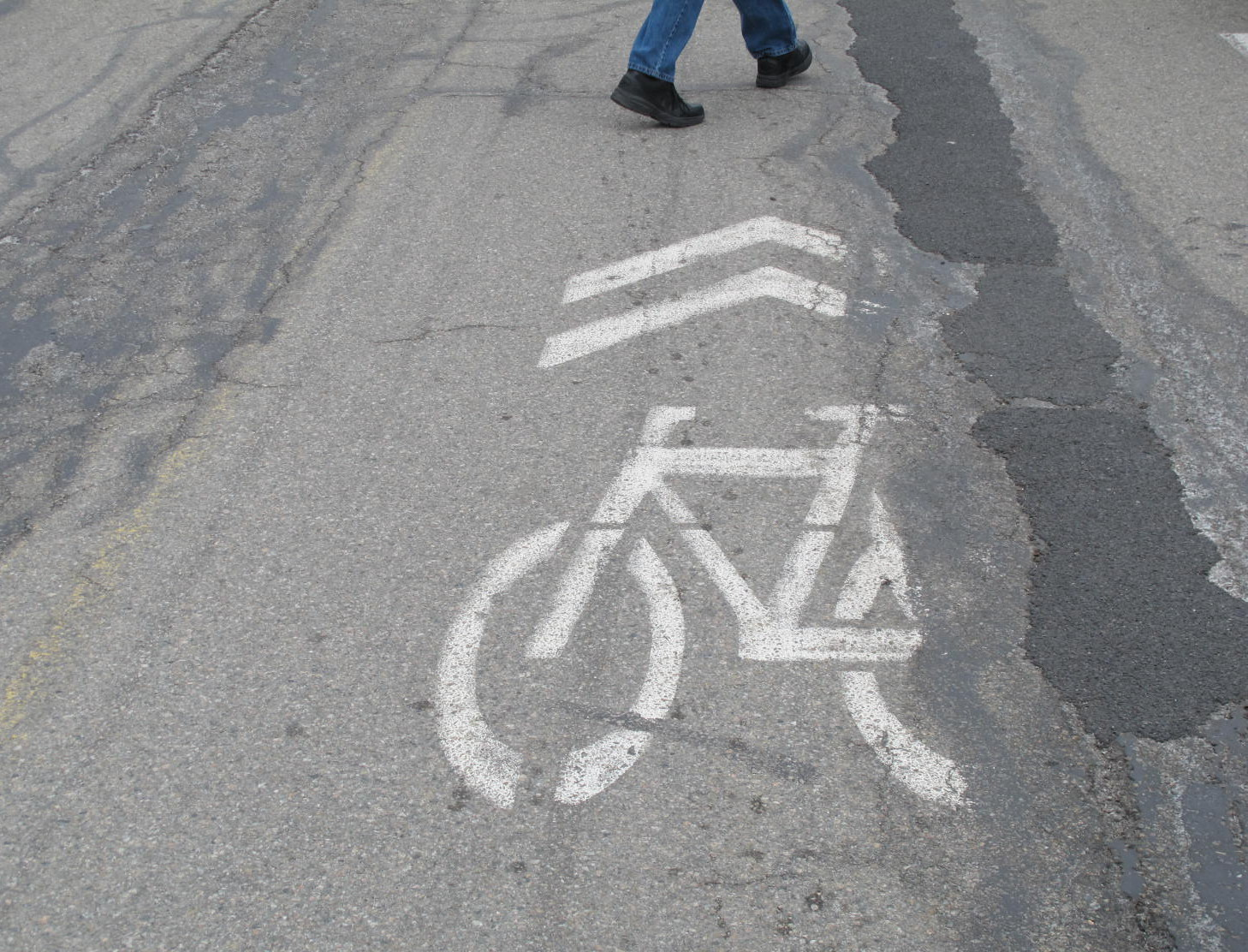 Repaint the Sharrows!
