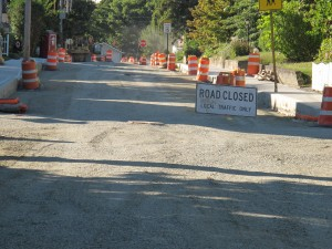 As with any road project that includes sidewalks, Oak Street residents will be getting a bill from the city once the work is complete.