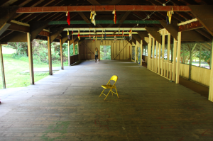 Pavilion space at the University Settlement Camp. All workshops listed will be held a USC.