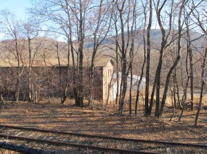 The brewery site is in an old factory building, next to the creek and with a view of the Fishkill ridge.