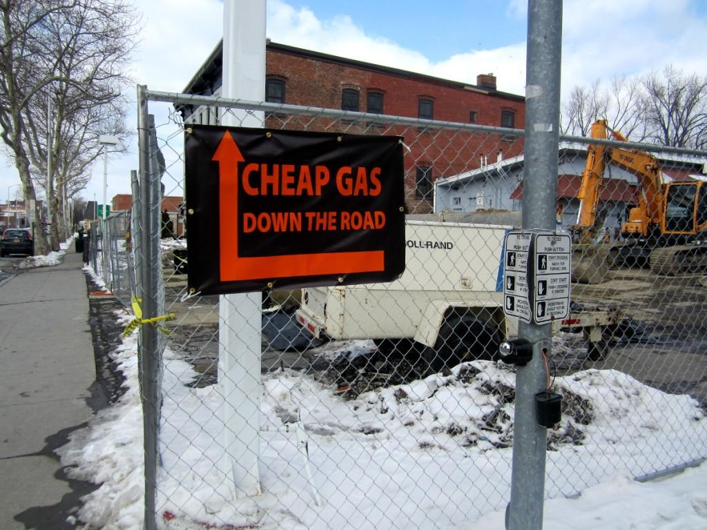 Cheap Gas Down The Road?