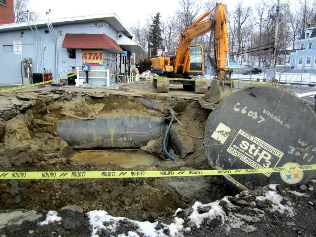 Fuel Gas Leak on Main Street