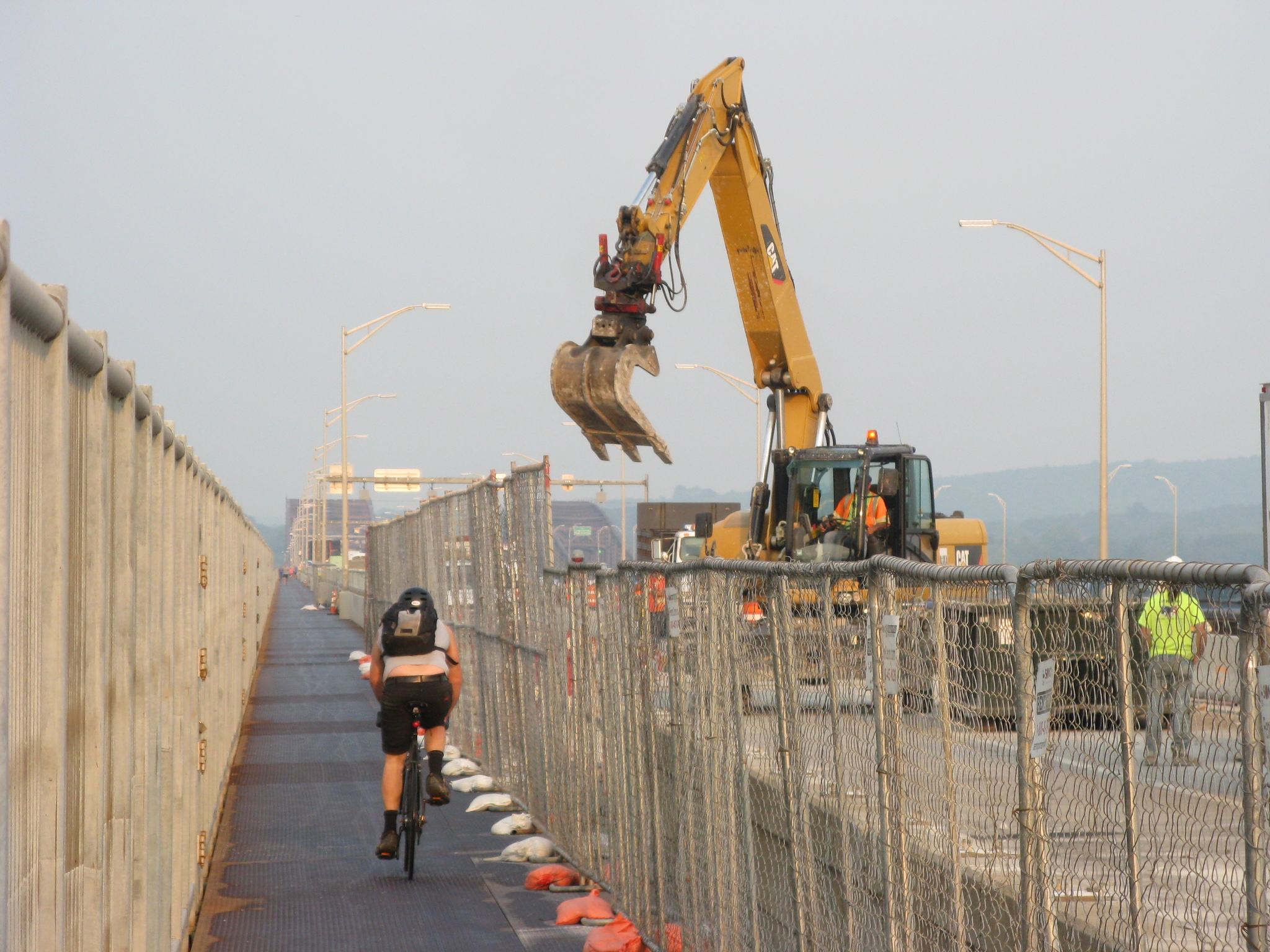 Newburgh-Beacon  Bridge Work Complete By Mid-November