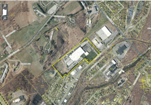 The first new site was behind the Chemprene facility on Rt. 52.