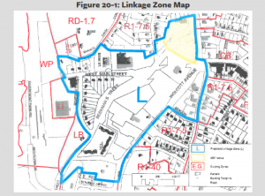 The Fishkill Landing Community Association is asking the city to reconsider the Linkage Zone parameters.