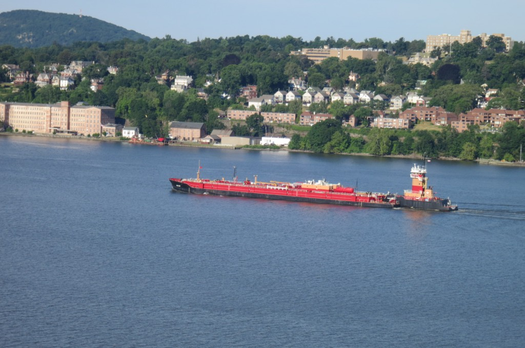 """Long Term"" Barge Anchorage Off Beacon's Dennings Point?"
