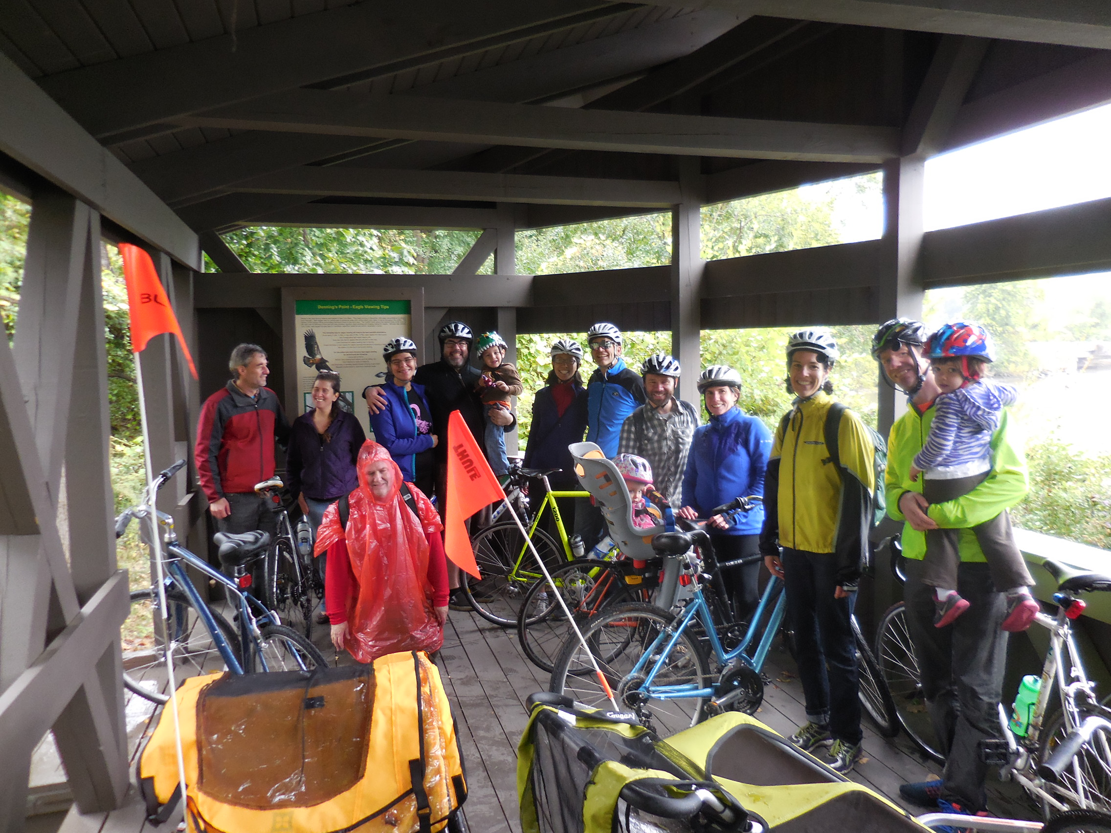 Bike Your Park a Success! Bonus Slide Show: Suckerfish Falls